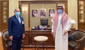 السفير السعودي التقى محمد بعاصيري