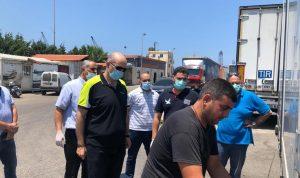جولة مفاجئة لمدير عام الزراعة على مرفأ طرابلس (صور)