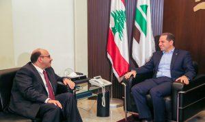 سامي الجميل التقى سفير الأردن