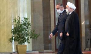 الكاظمي في إيران.. مباحثات سياسية واقتصادية مع روحاني