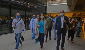 عبد الصمد وحسن تفقدا الإجراءات في المطار