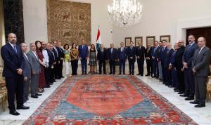 عون: لبنان لا يمكن أن يبتعد عن الثقافة حتى في أحلك ظروفه