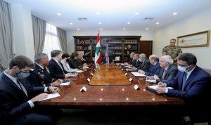 ماكنزي من بعبدا: للحفاظ على أمن واستقرار لبنان