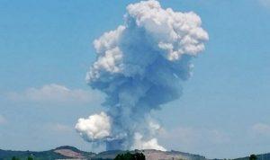 انفجار ضخم داخل مصنع للألعاب النارية يهز تركيا
