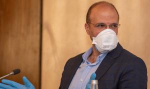 وزير الصحة تفقد تداعيات انهيار مستشفى الكرنتينا