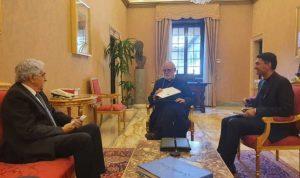 الفاتيكان ينصح حتي ببقاء لبنان مع الغرب
