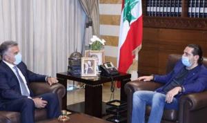 """اللواء ابراهيم  التقى الحريري: """"جايي اسأل خاطرو"""""""