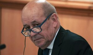 مسؤول فرنسي: لودريان قد يزور لبنان