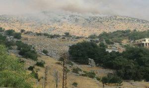 الجيش الإسرائيلي يطلق قنابل مضيئة فوق موقع الرادار