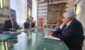 حتي ونظيره الايطالي شددا على أهمية استقرار لبنان