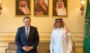 بخاري التقى رئيس الهيئات الاقتصادية