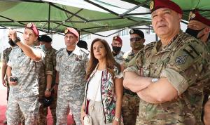 عكر: الجيش الضمانة والحامي للبنان ونثق بقيادته