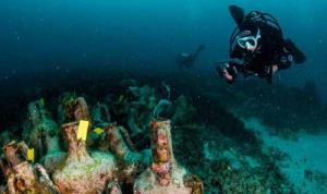 بالفيديو: اليونان تفتتح أول متحف تحت الماء في العالم