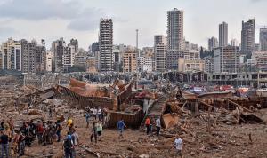وصول طائرة مساعدات تركية إلى بيروت