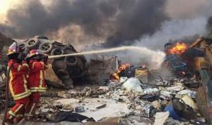 زلزال بيروت هجوم أم انفجار عرضي ؟