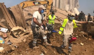 حدادين: انفجار بيروت كارثة إنسانية تستدعي تكاتفاً دولياً