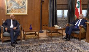 أبو الغيط من عين التينة: سنبذل أكبر جهد لمساندة لبنان