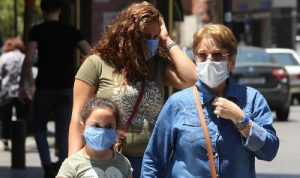في لبنان… 2723 إصابة جديدة بكورونا و55 وفاة