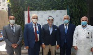 مساعدات طبية من مصر الى مستشفى المقاصد