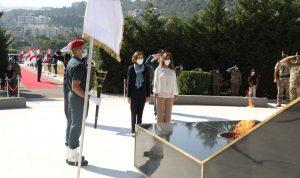 عكر بعد لقائها وزيرة الجيوش الفرنسية: لبنان يقدر تضامن فرنسا