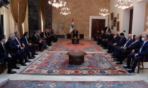 """""""لبنان القوي"""" يسمّي أديب: سنُسهّل تشكيل الحكومة"""