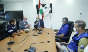 حسن عرض ووفد الاتحاد الأوروبي سبل تقديم أدوية ومعدات طبية