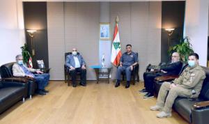 عثمان يطمئن رئيس بلدية ذوق مكايل: المواد الكيميائية آمنة