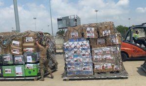طائرة أردنية تحمل مساعدات طبية وصلت بيروت