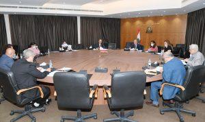 اجتماع للجنة درس اقتراح قانون الشراء العام