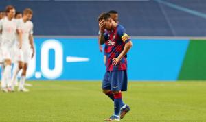 ميسي سيغادر برشلونة!