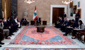 عون: مرفأ بيروت شريان حياتنا الاقتصادية صار ركامًا