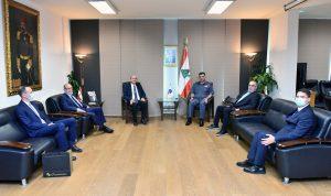 عثمان بحث مع سفير تركيا سبل التعاون للخروج من الازمة