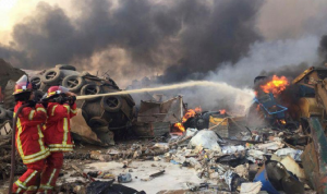 أسماء المفقودين من موظفي إهراءات مرفأ بيروت