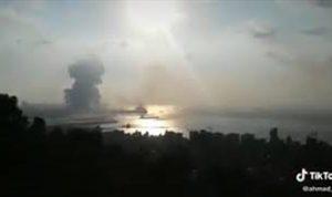 بالفيديو: مشهد جديد ومروع لانفجار مرفأ بيروت!