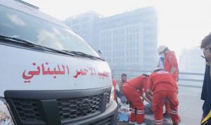 58 جريحًا في احتجاجات ساحة الشهداء