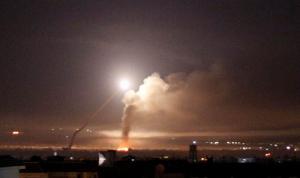 قصف إسرائيلي على منطقة جبل المانع في القنيطرة السورية