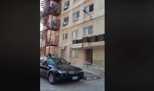 اخماد حريق في مستشفى بطرابلس (فيديو)