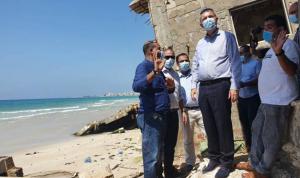 جولة تفقدية للازاريني في مخيمات لبنان