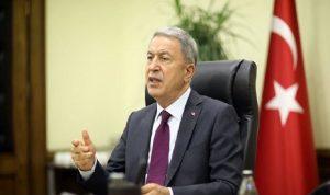 وزير الدفاع التركي: وافقنا على إجراء محادثات مع اليونان