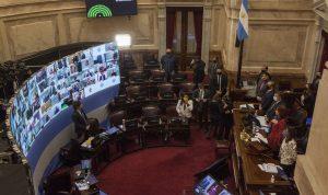 مشهد إباحي في البرلمان الأرجنتيني
