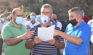 اعتصام للمطالبة بحل لمكب النفايات في برجا