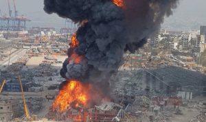 القاضي بو سمرا يباشر تحقيقاته في حريق مرفأ بيروت الثلثاء