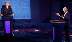 في لقاء متزامن مع بايدن.. ترامب: أشعر أنني الفائز