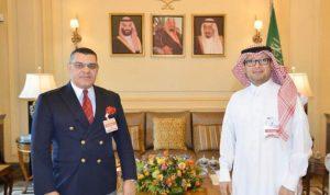بخاري استعرض مع السفير المصري التطورات في لبنان