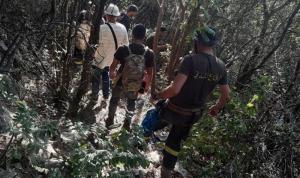 """إنقاذ إمرأة اُصيبت أثناء ممارسة الـ""""hiking"""" في أحد الوديان"""