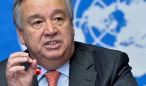غوتيريش: لضرورة دعم منظمة الصحة العالمية