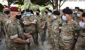 قائد الجيش: لن نسمح للمشروع الإرهابي بالتسلل إلى الداخل اللبناني