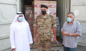 مساعدات إماراتية إلى لبنان