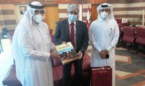 هبة قطرية لترميم المدارس الرسمية المتضررة من الانفجار