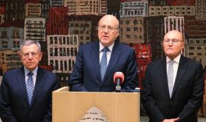 سلام وميقاتي والسنيورة: مؤسف الالتفاف على الفرصة التي أتيحت للبنان